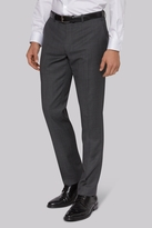 DKNY Slim Fit Grey Birdseye Trousers