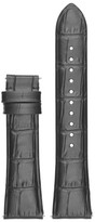 Emporio Armani Men's 22Mm Embossed Leather Watch Strap
