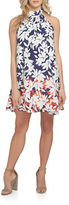 Cynthia Steffe Petal Border Halter Dress