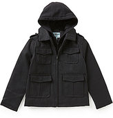 Class Club Little Boys 2T-7 Flannel Military Jacket