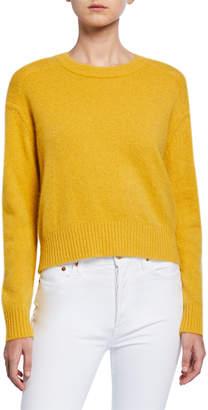 Loulou Studio Drop-Shoulder Superfine Wool Sweater