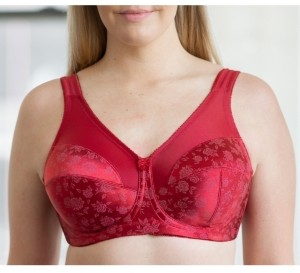 Cortland Intimates Banded Floral Print Soft Cup Bra