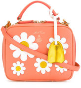 Mark Cross floral print bag - women - Leather - One Size