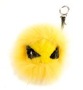 Fendi Cedar Yellow Eye Tria Key Charm