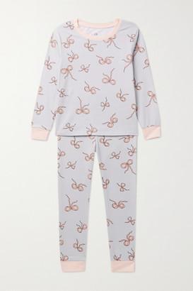 MORGAN LANE KIDS Lulu Ages 1 - 8 Printed Stretch-jersey Pajama Set