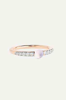 Pomellato M'ama Non M'ama 18-karat Rose Gold, Diamond And Moonstone Ring - 13