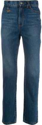 Ader Error Colly high-rise jeans