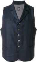 Eleventy tweed waistcoat