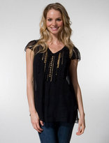 Nanette Lepore How Sweet It Is Blouse in Black