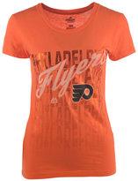 VF Licensed Sports Group Women's Philadelphia Flyers Hip Check T-Shirt