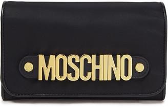 Moschino Logo-embellished Twill Wallet