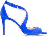 Jimmy Choo Emily 85 sandals - women - Calf Leather/Goat Skin/Leather - 37
