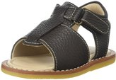Elephantito Boy Sandal (Toddler) - Chocolate-7 Toddler