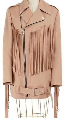 MSGM Fringed jacket