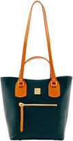 Dooney & Bourke Black Raleigh Small Jenny Leather Tote