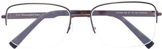 Ermenegildo Zegna Half-Frame Optical Glasses