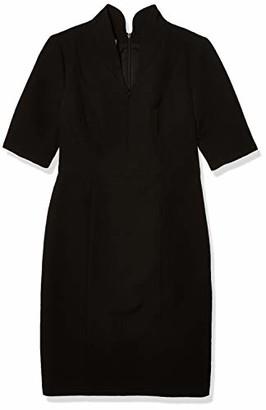 Anne Klein Women's Zip Front Sheath Dress