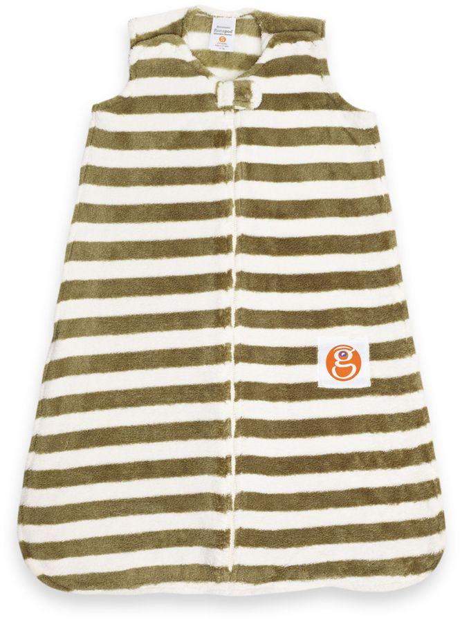 Bed Bath & Beyond Gunamuna Gunapod Medium Stripe Wearable Blanket in Moss
