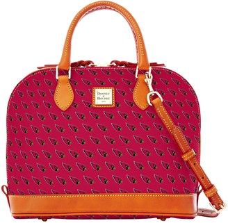 Dooney & Bourke NFL AZ Cardinals Zip Zip Satchel