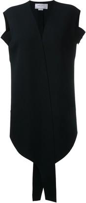 Esteban Cortazar Studded Arm Strap Waistcoat