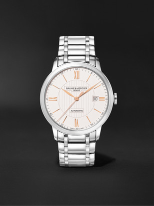 Baume & Mercier Classima Automatic 40mm Stainless Steel Watch, Ref. No. M0a10374