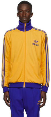 adidas Yellow adiColor 70s Archive Track Jacket
