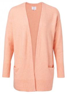 Ya-Ya Wool Pockets Cardigan - orange   X-Small - Orange/Orange