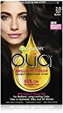 Garnier Olia Oil Powered Permanent Hair Color, 2.0 Soft Black (Packaging May Vary)