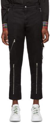 Alexander McQueen Black Punk Trousers