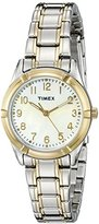 Timex Women's TW2P761009J Style Elevated Analog Display Quartz Two Tone Watch
