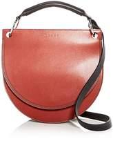 Marni Large Leather Saddle Bag