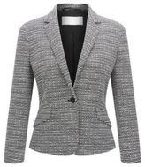 HUGO BOSS Bouclé Jacket Katemika 8 Patterned