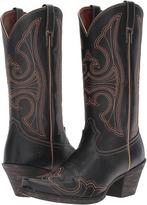 Ariat Round Up D Toe Wingtip Cowboy Boots