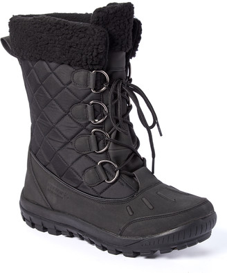 BearPaw Women's Cold Weather Boots BLACK - Black Cassie Snow Boot - Women