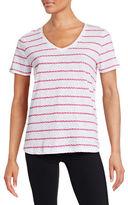 Tommy Hilfiger Rope Stripe V-Neck T-Shirt