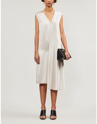 Joseph Carrol silk shift dress