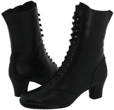 Fitzwell Rhea Ankle Boot (Black Calf) - Footwear