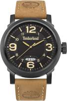 Timberland Gents Brown Leather Strap Watch