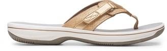 Clarks CLOUDSTEPPERS by Thong Sandals - Breeze Sea Snake