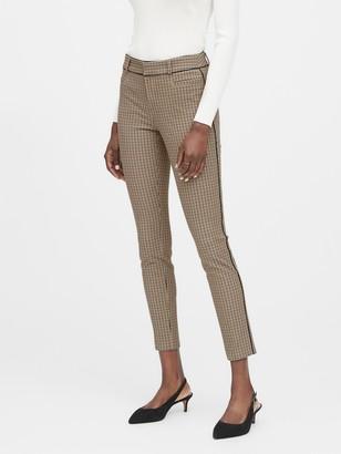 Banana Republic Petite Modern Sloan Skinny-Fit Pant with Piping
