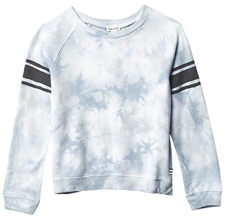 Splendid Littles Tie-Dyed Varsity Top (Toddler/Little Kids/Big Kids) (Blue Fog) Boy's Clothing