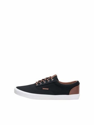 Jack and Jones Men's Jfwvision Classic Mixed Low-Top Sneakers