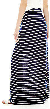 Joe Fresh Striped Maxi Skirt