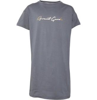 Avant Garde Girls Jenkins T-Shirt Dress Grey/Gold