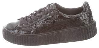 size 40 c34f8 020a6 Patent Leather Pumas - ShopStyle