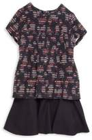 Oscar de la Renta Toddler's, Little Girl's & Girl's Tweed Drop-Waist Dress