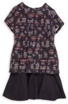 Oscar de la Renta Toddler's, Little Girl's & Girl's Tweed Drop-Waist Dress