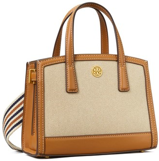 Tory Burch Walker Canvas Micro Satchel
