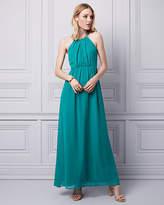 Le Château Chiffon Halter Gown