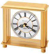 Bulova Cheryl Brass Table Clock